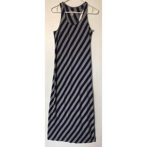 Just love long maxi chevron racer-back dress XL